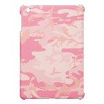 Caso rosado del iPad de la mota de Camo