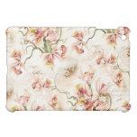 Caso rosado del iPad de la orquídea