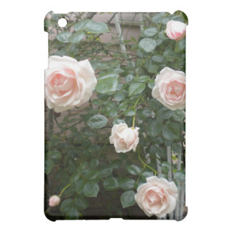 Caso rosado del iPad de los rosas que sube