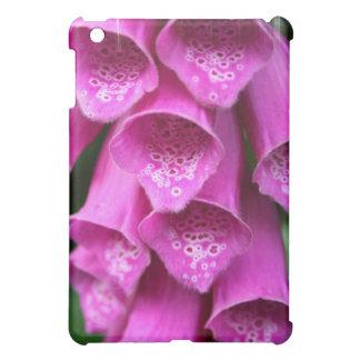 Caso rosado del iPad del Foxglove