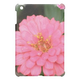 Caso rosado del iPad del Zinnia