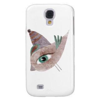 Caso rosado del iPhone 3G/3GS del pájaro