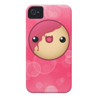 Caso rosado del iPhone 4/4s del buñuelo iPhone 4 Funda