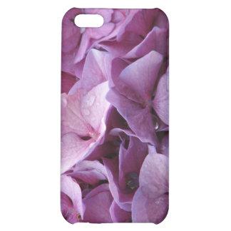 Caso rosado del iPhone 4 de la flor del Hydrangea