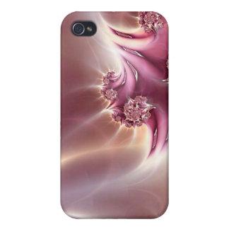 Caso rosado del iPhone 4 de la mota de la joyería iPhone 4 Cobertura