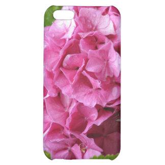 Caso rosado del iPhone 4 del Hydrangea