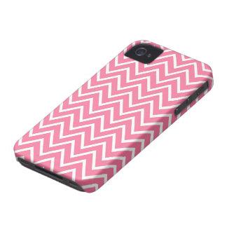 Caso rosado del iPhone 4 del modelo del galón del iPhone 4 Case-Mate Cobertura