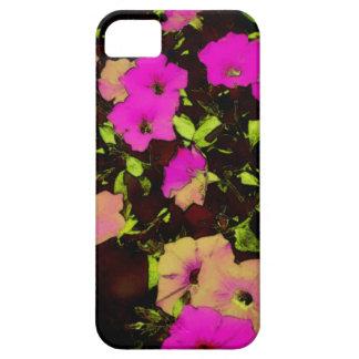 Caso rosado del iPhone 5/5s de las flores del vint iPhone 5 Case-Mate Cárcasas