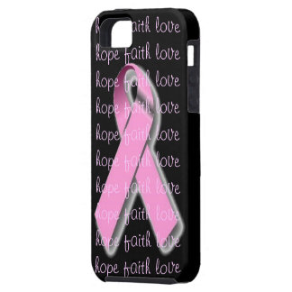 Caso rosado del iphone 5 de la cinta iPhone 5 funda