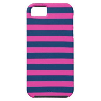 Caso rosado del iPhone 5 de la marina de guerra iPhone 5 Case-Mate Coberturas