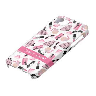 Caso rosado del iPhone 5 de los accesorios Funda Para iPhone SE/5/5s