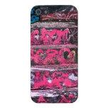 Caso rosado del iPhone 5 de los artes de la calle  iPhone 5 Cárcasa
