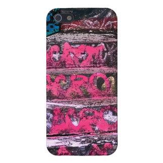 Caso rosado del iPhone 5 de los artes de la calle  iPhone 5 Carcasa