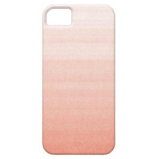 Caso rosado del iPhone 5 de Ombre iPhone 5 Funda