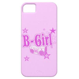 Caso rosado del iPhone 5 del B-Chica Funda Para iPhone 5 Barely There