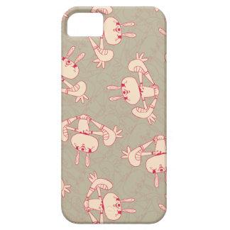 caso rosado del iphone 5 del conejo iPhone 5 coberturas
