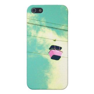 Caso rosado del iPhone 5 del paseo del cielo iPhone 5 Fundas