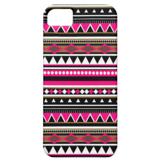 Caso rosado del iPhone 5 - modelo azteca Funda Para iPhone SE/5/5s