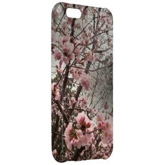 Caso rosado del iPhone 5c de las flores de cerezo
