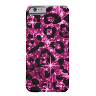 Caso rosado del iPhone 6 de Bling Funda Para iPhone 6 Barely There
