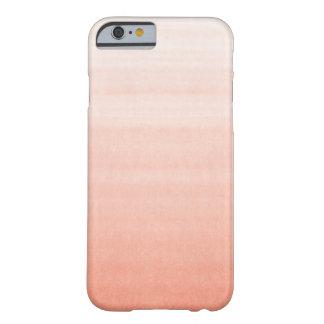 Caso rosado del iPhone 6 de Ombre Funda De iPhone 6 Slim