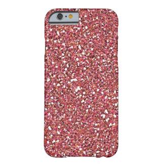 caso rosado del iPhone 6 del brillo Funda Para iPhone 6 Barely There