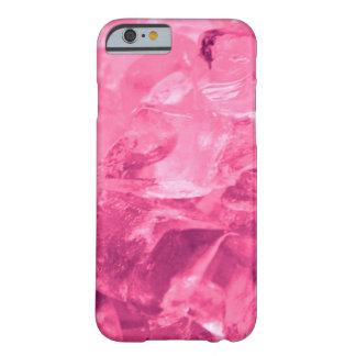 Caso rosado del iPhone 6 del hielo Funda De iPhone 6 Barely There