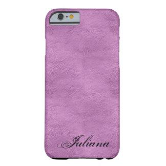 Caso rosado del iPhone 6 del modelo de la mirada Funda De iPhone 6 Barely There