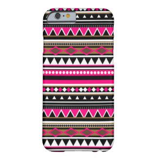 Caso rosado del iPhone 6 - modelo azteca Funda Barely There iPhone 6