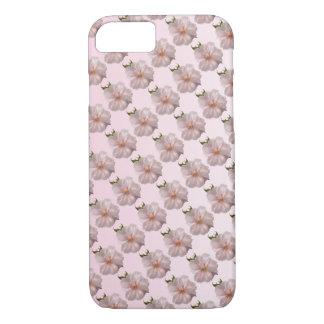 Caso rosado del iPhone 7 de Sakura de la flor de Funda iPhone 7