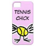 Caso rosado del iPhone con diseño del tenis iPhone 5 Protectores