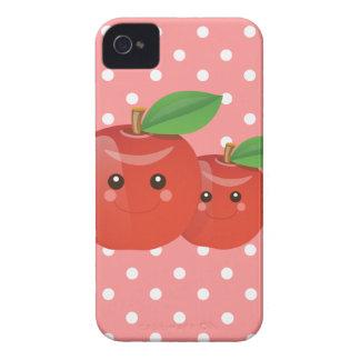 Caso rosado del iPhone de Kawaii Apple iPhone 4 Carcasas