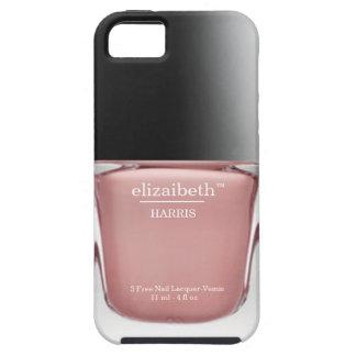 Caso rosado del iPhone de la botella del esmalte iPhone 5 Fundas