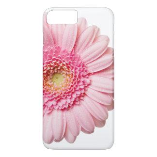 Caso rosado del iPhone de la margarita del Gerbera Funda iPhone 7 Plus
