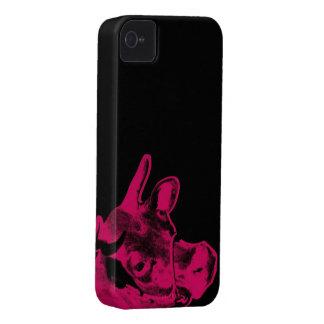 Caso rosado del iPhone de la vaca Carcasa Para iPhone 4 De Case-Mate