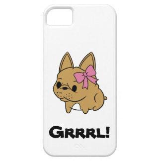 Caso rosado del iPhone de Rockette iPhone 5 Carcasas