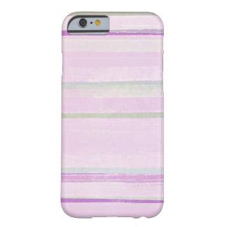 Caso rosado del iPhone del arte abstracto del Funda De iPhone 6 Barely There
