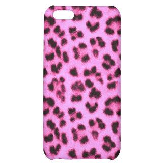 Caso rosado del leopardo