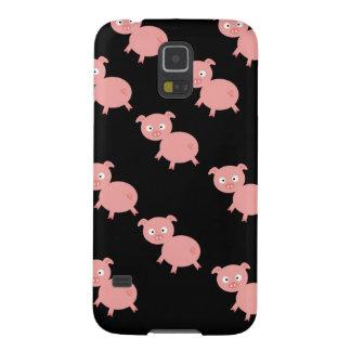 Caso rosado del nexo de Samsung de los cerdos Carcasas De Galaxy S5