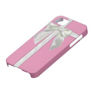 Caso rosado del presente Iphone5s iPhone 5 Cárcasas