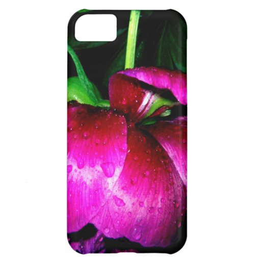 Caso rosado del rosa funda para iPhone 5C