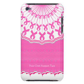 Caso rosado del tacto de iPod de la ayuda del cánc iPod Touch Coberturas
