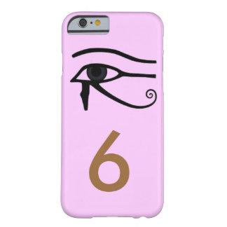 Caso rosado del teléfono 6 del egipcio I Funda De iPhone 6 Barely There