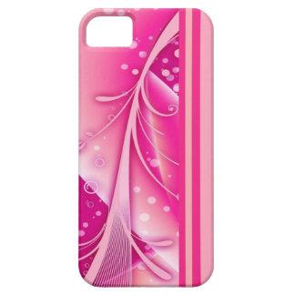 Caso rosado descarado del iPhone de Girlie iPhone 5 Carcasa
