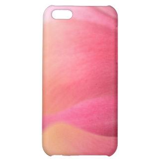 Caso rosado enorme del iPhone 4 de los pétalos del
