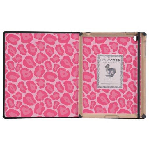 Caso rosado femenino de Ipad del Dodo del modelo d iPad Cárcasa