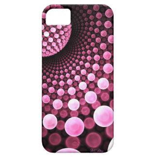 Caso rosado nacarado de Iphone del fiesta de disco Funda Para iPhone SE/5/5s