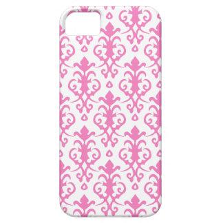 Caso rosado persa del iPhone 5 del damasco iPhone 5 Carcasas
