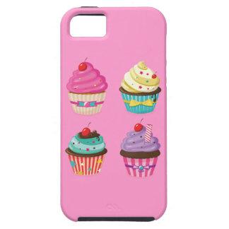 Caso rosado sabroso del iPhone de la magdalena Funda Para iPhone SE/5/5s