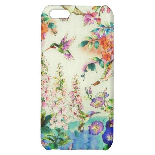 Caso rosado wow del iPhone de las flores de los co